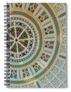 Ceiling Detail Spiral Notebook
