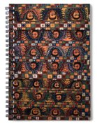 Ceiling Of Angels, Abba Pantaleon Monastery  Spiral Notebook