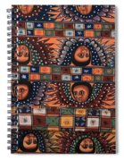 Ceiling Of Angels  Spiral Notebook