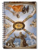 Ceiling Of The Chapel Of Eleonora Of Toledo Spiral Notebook