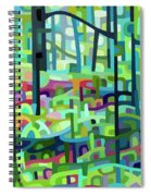 Celdaon Morning Spiral Notebook
