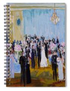 Celebrating With Julie And Jonathan 06/16/2018 Spiral Notebook
