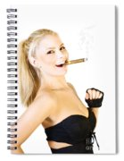 Celebration Of Fun And Success Spiral Notebook