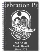 Celebration Pipes  Spiral Notebook