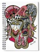 Celebration - X Spiral Notebook