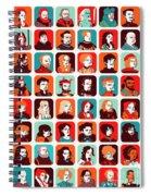 Celebrities Spiral Notebook