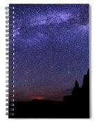 Celestial Arch Spiral Notebook
