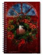 Celestial Christmas Spiral Notebook