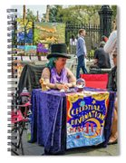 Celestial Divination Spiral Notebook