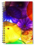 Celestial Glass 3 Spiral Notebook