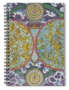 Celestial Map Of The Planets Spiral Notebook