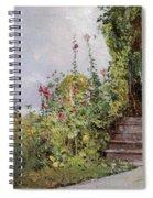 Celia Thaxters Garden Spiral Notebook