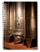Modern Wine Cellar  Spiral Notebook