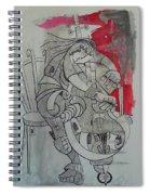 Cellist 01 Spiral Notebook