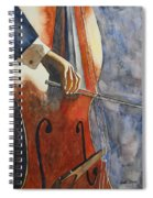 Cello Spiral Notebook