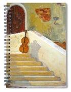 Cello No 3 Spiral Notebook