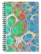 Cells 11 - Abstract Painting  Spiral Notebook