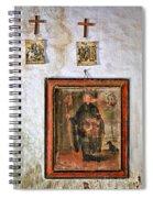 Celoca_155a9320 Capilla_san_antonio Spiral Notebook