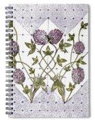 Celtic Clover Spiral Notebook