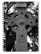 Celtic Cross In Emmet Park Spiral Notebook