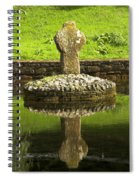 Ancient Celtic Cross At St Patrick Well Spiral Notebook