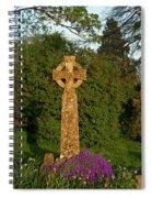 Celtic Cross St Davids Church Spiral Notebook