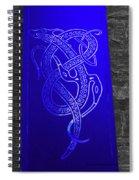 Celtic Design Spiral Notebook