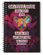 Celtic Eclipse Of The Heart Spiral Notebook