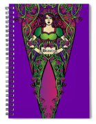 Celtic Forest Fairy - Beauty Spiral Notebook