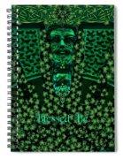 Celtic Green Man Spiral Notebook