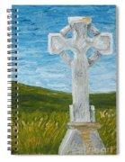 Celtic High Cross Spiral Notebook
