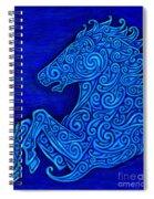 Celtic Horse Spiral Notebook