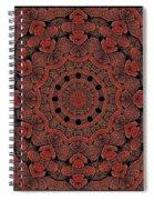 Celtic Key Tile  Spiral Notebook