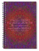 Celtic Romeo And Juliet Spiral Notebook