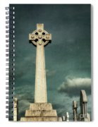 Celtic Sanctuary Spiral Notebook