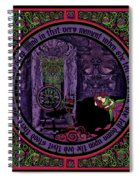 Celtic Sleeping Beauty Part II The Wound Spiral Notebook