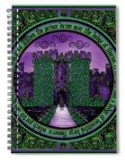 Celtic Sleeping Beauty Part IIi The Journey Spiral Notebook