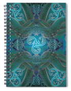Celtic Snakes Mandala Spiral Notebook