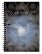 Celtic Triple Moon Goddess Mandala Spiral Notebook