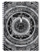 Celtic Wondrous Strange Spiral Notebook