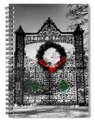 Celtic Yuletide Blessings Spiral Notebook