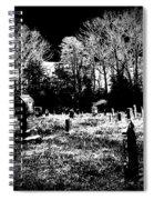 Cemetary Spiral Notebook