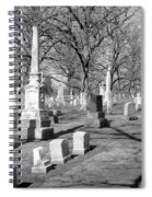 Cemetery 3 Spiral Notebook