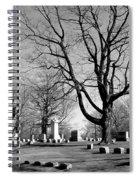 Cemetery 5 Spiral Notebook