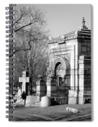 Cemetery 8 Spiral Notebook