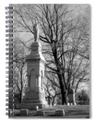 Cemetery 9 Spiral Notebook