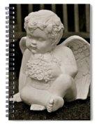 Cemetery Angel Spiral Notebook