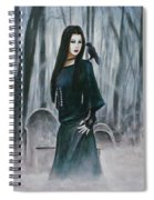 Cemetery Chic Spiral Notebook