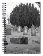 Cemetery Church Of St. Mary Wedmore Spiral Notebook