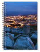 Cemetery Overlooking Fes, Morocco Spiral Notebook